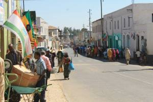 The streets of Harar..