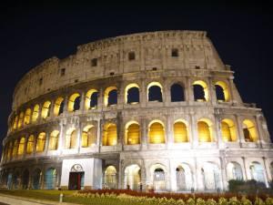 The impressive Colosseum in Rome..!