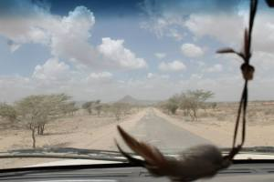 The long, and dry, road to Lodwar..
