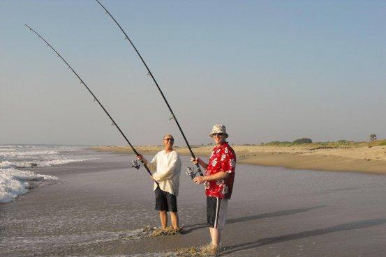 Gambia activities   beach fishing   portrait