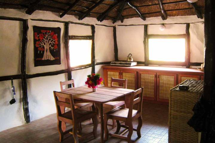 Footsteps accommodation | Kaira cabins | kitchen