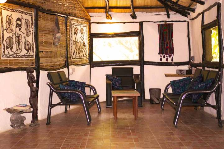 Footsteps accommodation | Kaira cabins | sitting area