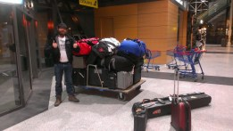 Airport with kit i phone