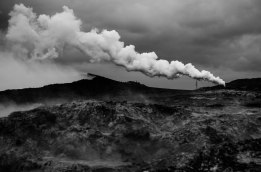 Geothermal power Leica monochrome