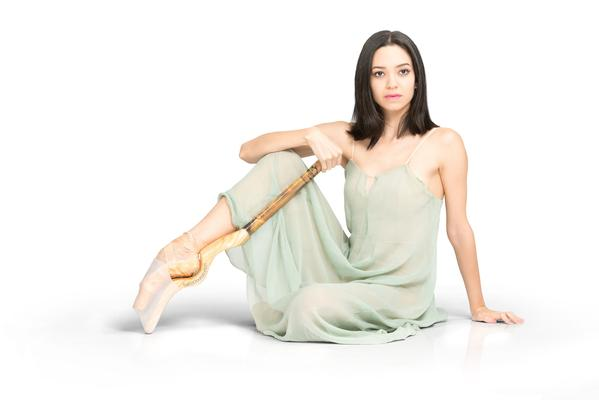 What happens when you wear new pointe shoes?