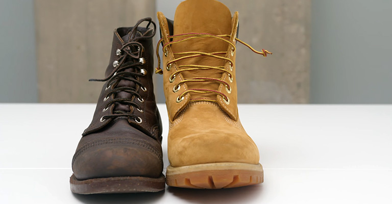 What is the difference between Red Wing vs Timberland work boots