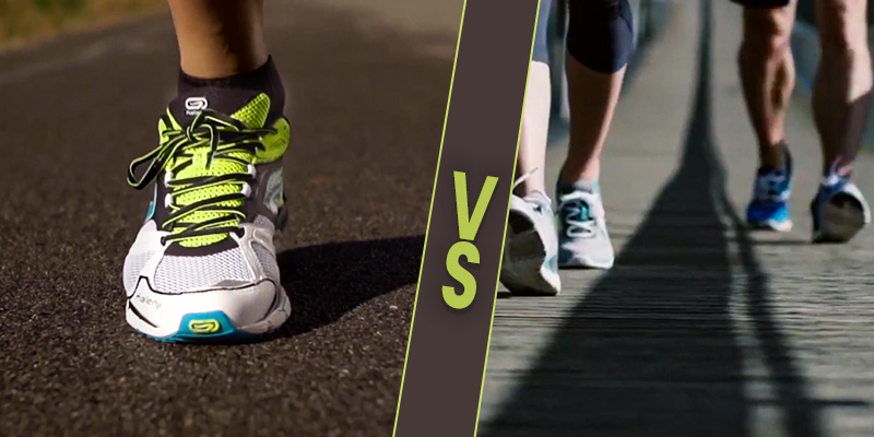 Walking Shoes vs Running Shoes