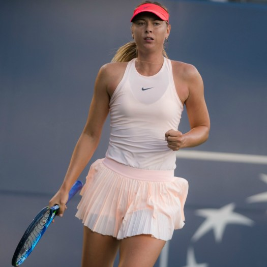 Maria Sharapova's Black Dress at US Open 2017 Is Crystal ...