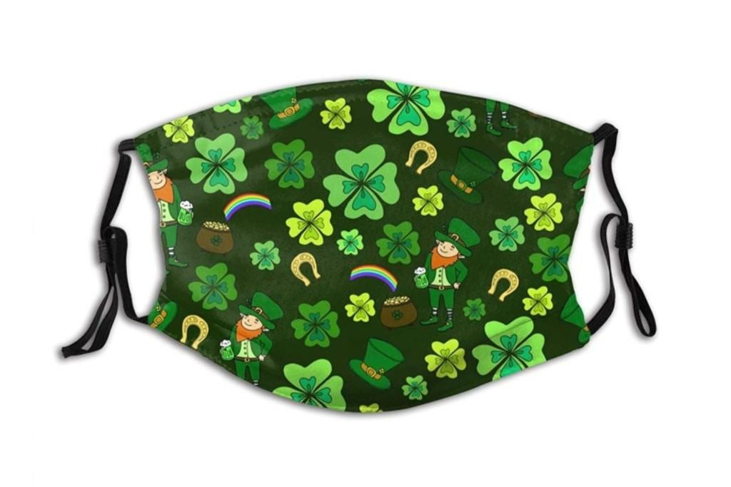 11 St. Patrick's Day-Themed Face Masks to Help You Celebrate the Holiday