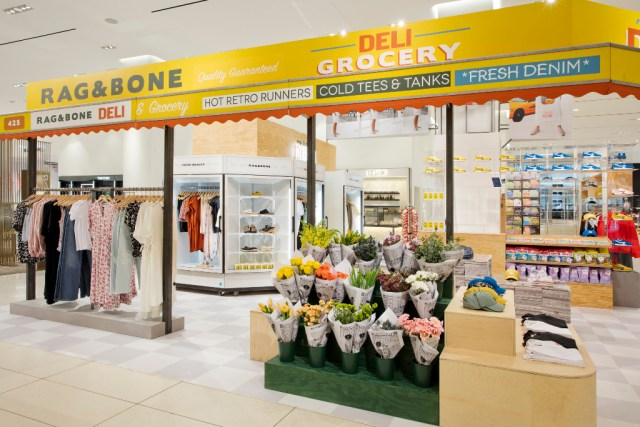 Rag & Bone, Pop-Up, Nordstrom, NYC, Store Openings