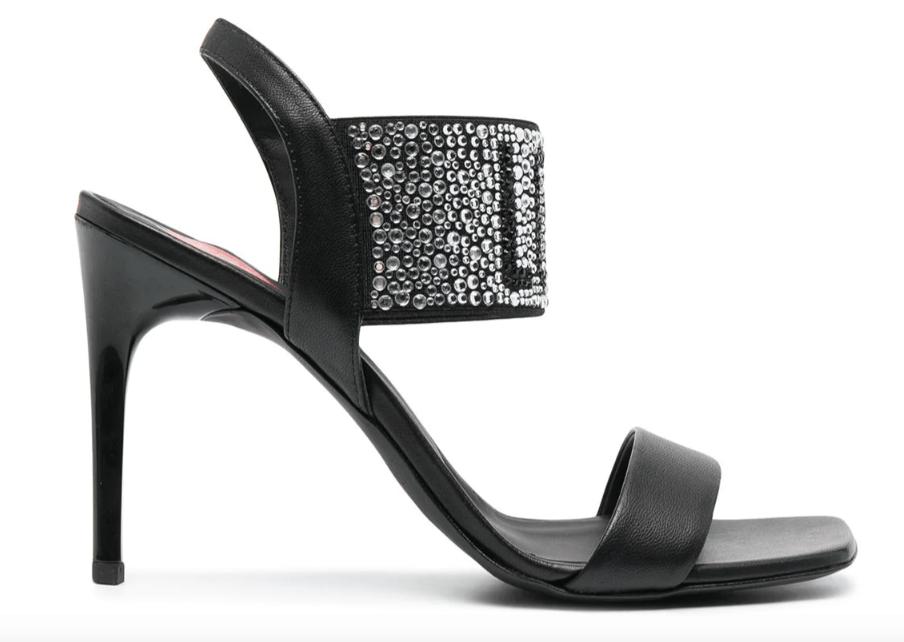 Megan Fox, Love Moschino, sandals
