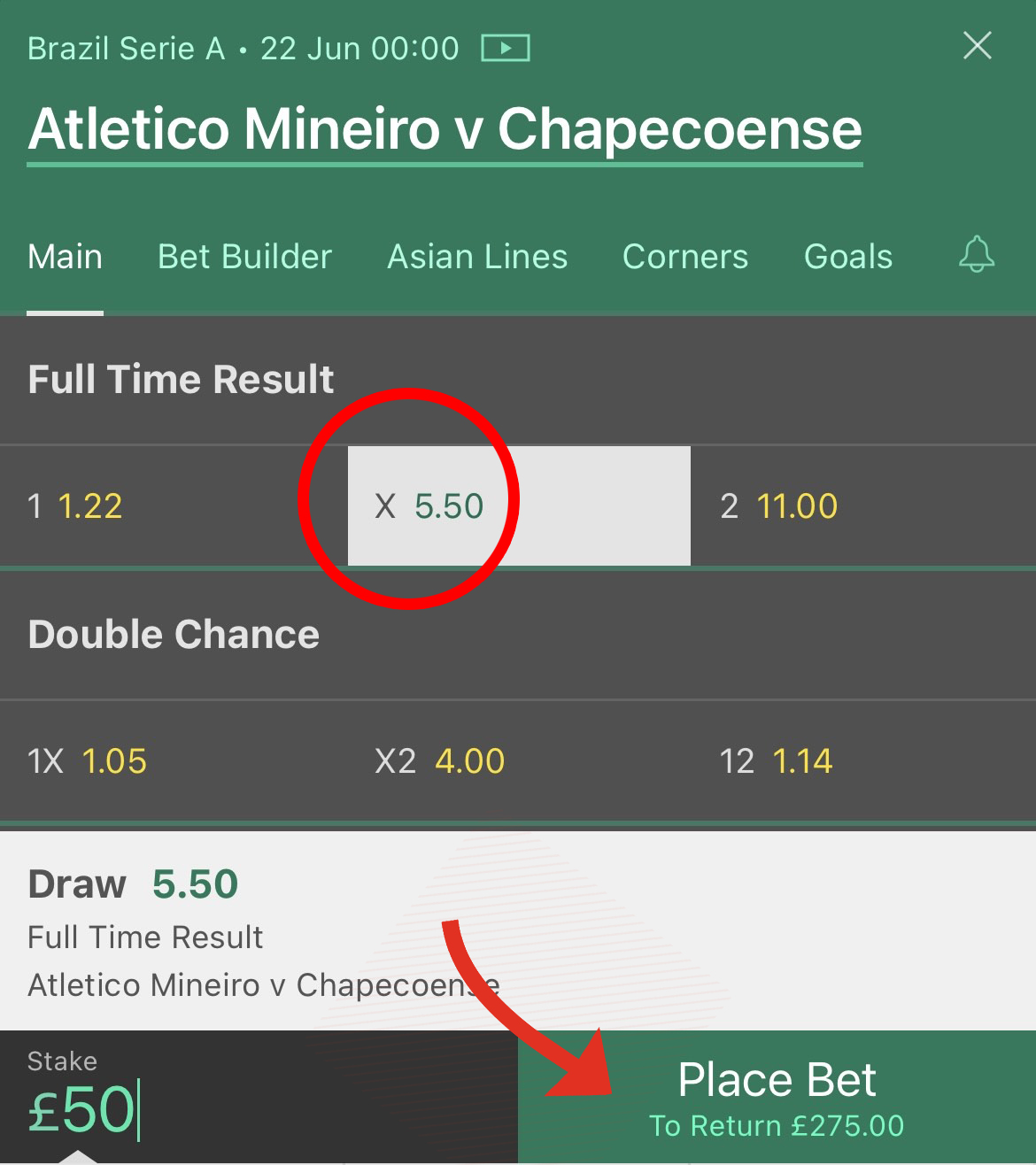 meaning of 1x2 betting
