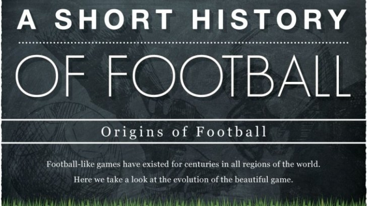 A Brief History Of Football Infographic
