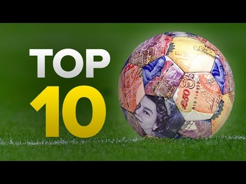 The Top 10 Most Expensive Football Players Ever!