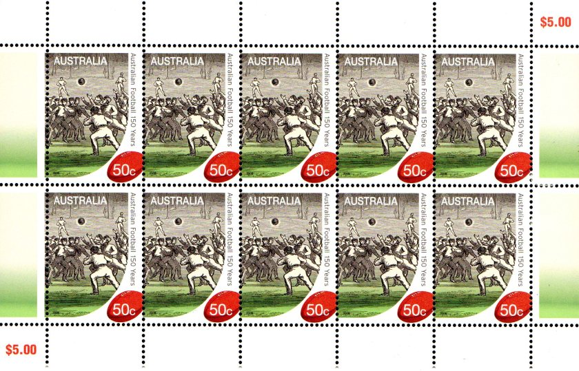 MS 150 Years of Australian Football