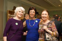 Linda Cox, Elizabeth Vizza, Friends Executive Director, June McCourt.