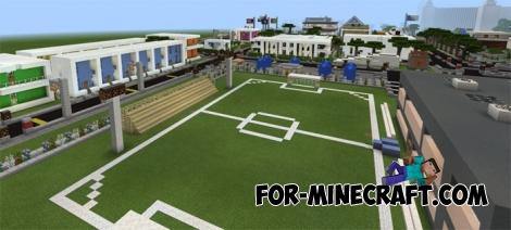 UKS City Para Minecraft PE 1.1 e 1.2