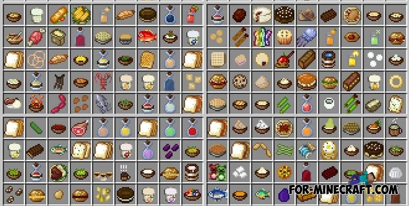 Pams Harvest Craft PE Mod For Minecraft PE V243