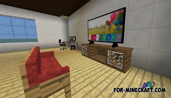 Minecraft Pocket Edition Furniture