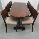 A Pair Of New Slight 2nds D End Extended Twin Pedestal Tables With 16 Chairs Derby Derbyshire
