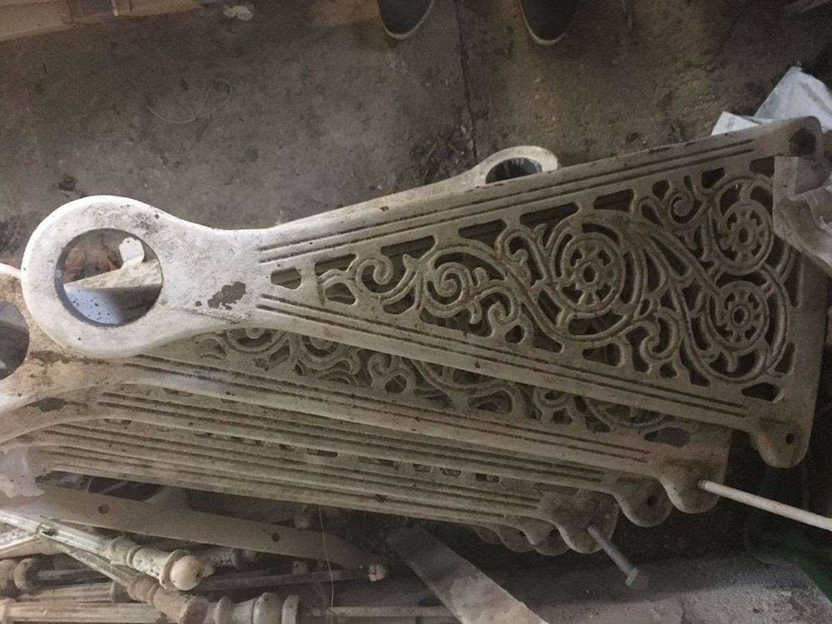 Secondhand Vintage And Reclaimed Staircases Antique Cast Iron Spiral Staircase Oxfordshire | Spiral Staircase For Sale