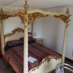 Antiques Bazaar Antique Beds 10x Ornate Carved Quality Four Poster Mahogany Kingsize Bed Devon