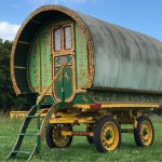 Glamping Equipment Gypsy Caravans Traditional Bow Top Horse Drawn Gypsy Wagon Herefordshire