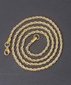Cadena cordón de acero