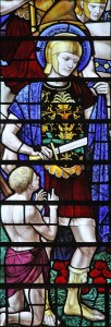 Martin of Tours, while a soldier. Image by Fr Lawrence Lew OP, Creative Commons licence CC BY-NC-ND