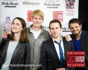 Uma Incrocci, Christian Pedersen, Alex Feldman and Harrison Butler