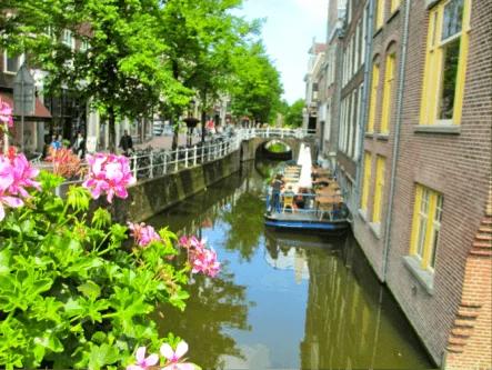 Canais de Amsterdã