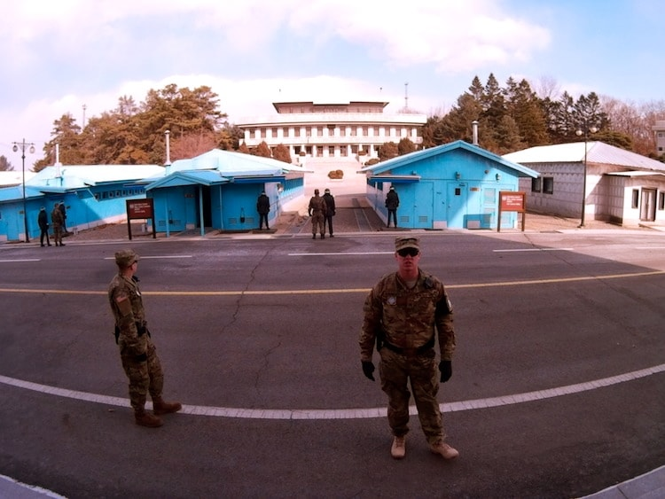 JSA, (Joint Security Area)