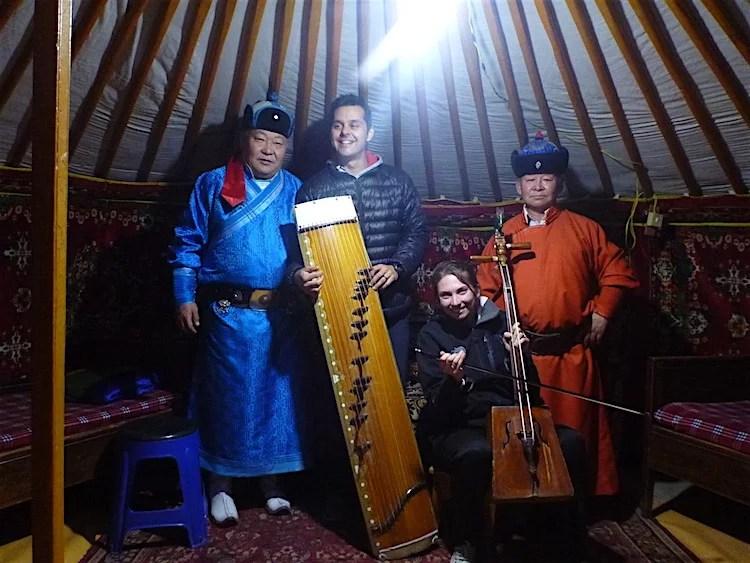 Cantores de garganta Mongólia