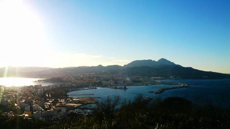 Vista da Baia de Ceuta