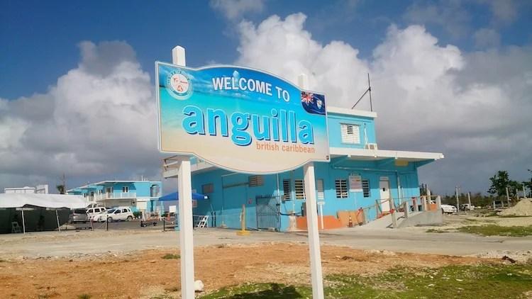 Bem vindo a Anguilla