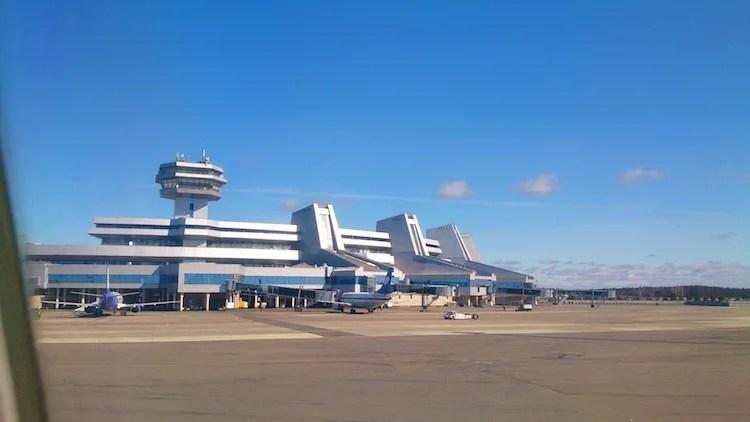 Aeroporto de Minsk Bielorrússia