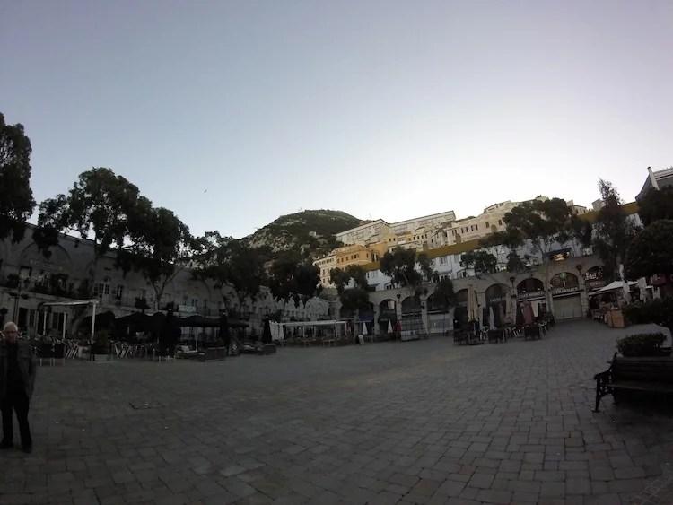 Praca de Casemates Gibraltar