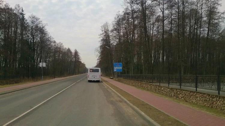 Belovezhskaya Pushcha National Park Bus Stop 2