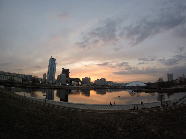 Sunset-Minsk-Belarus 2