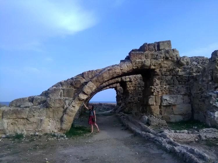 Cidade antiga Salamis 2
