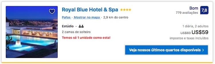 Bom hotel Paphos