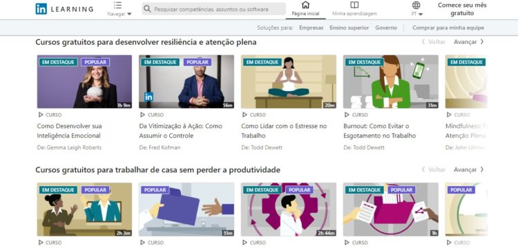 Linkedin Learning curso online