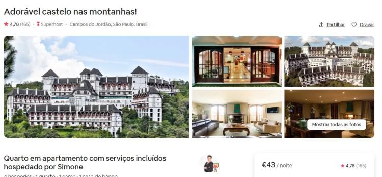 fotos do espaço airbnb