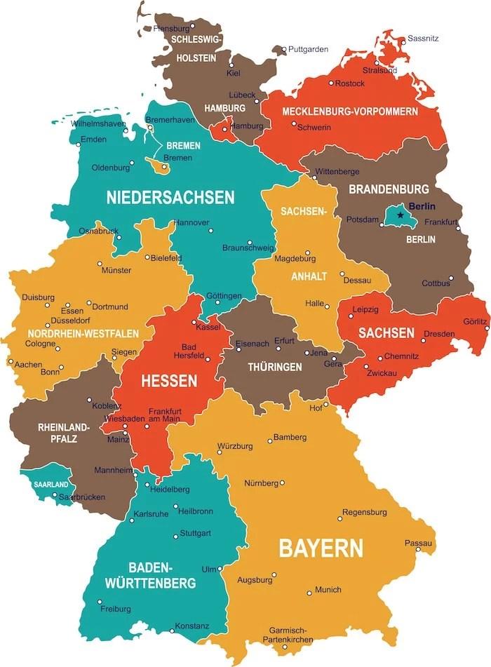 Principais cidades da Alemanha