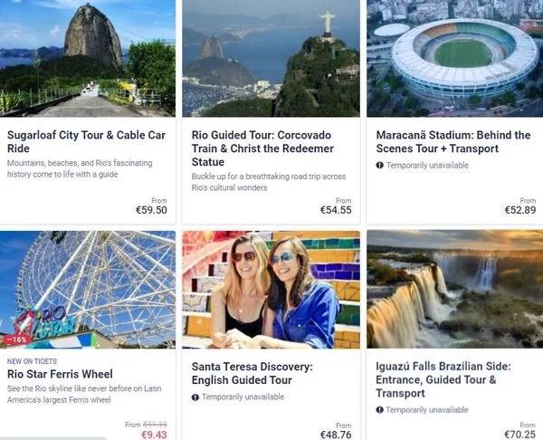 Melhores atrações do Brasil