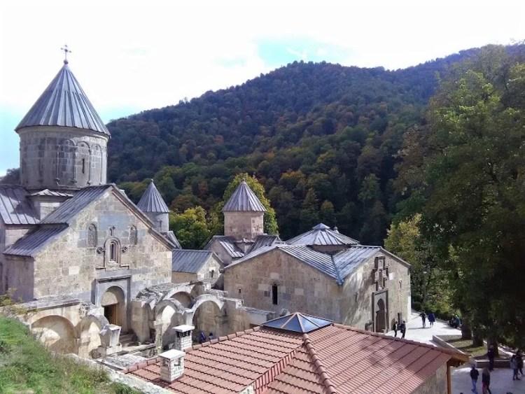 Complexo do Monastério Haghartsin (perto do Lago Sevan e Dilijan)