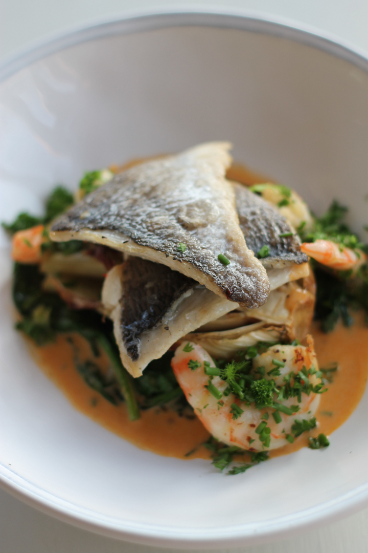 Bream, Fennel, Prawn Bisque
