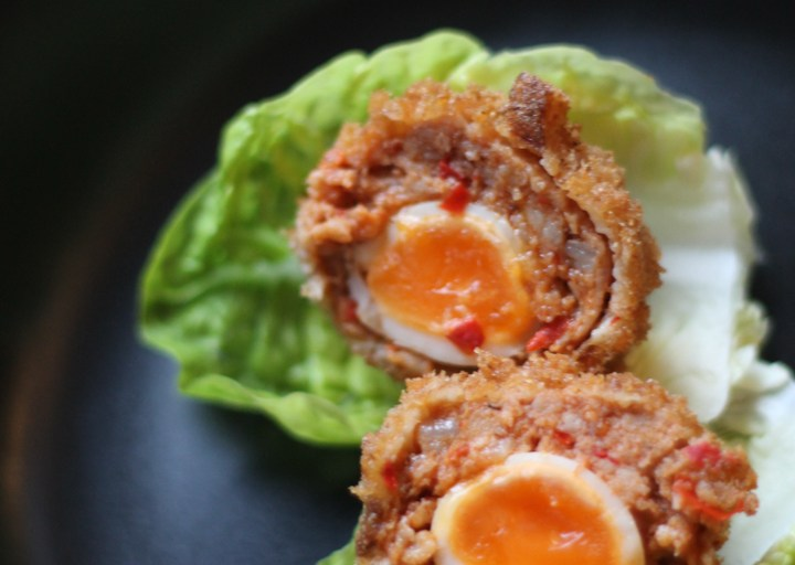 'Mini' Chorizo Scotch Eggs