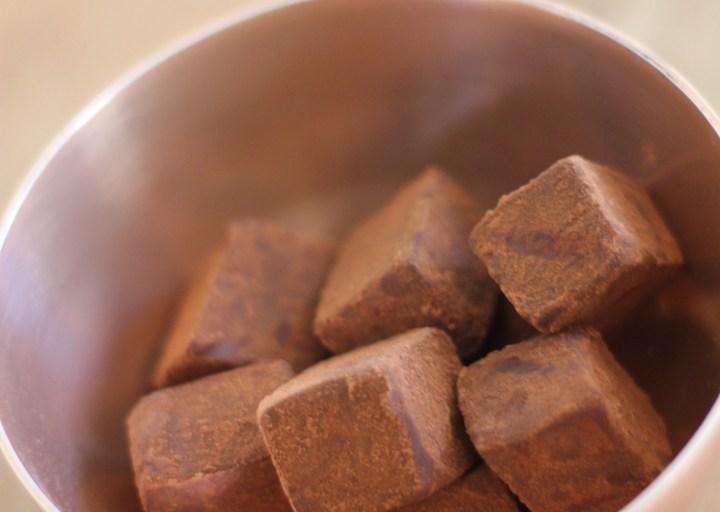 Date & Himalayan Pink Salt Truffles