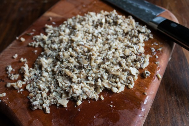 Dryad saddle mushroom relish